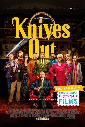 Knives Out (Park Stroller) movie poster