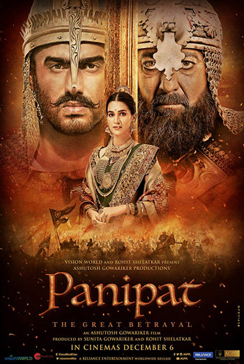 Panipat(Hindi W/E.S.T.) - in theatres 12/06/2019