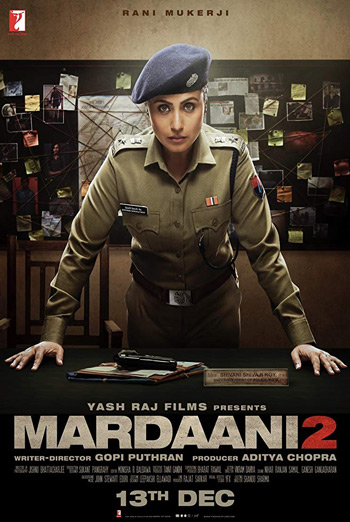 Mardaani 2 (Hindi) movie poster