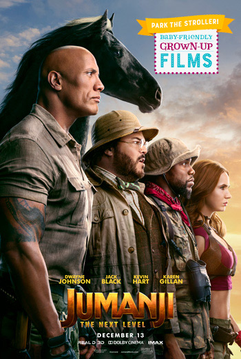 Jumanji: The Next Level(Park Stroller) movie poster