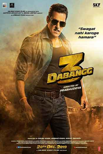 Dabangg 3(Hindi W/E.S.T.) movie poster