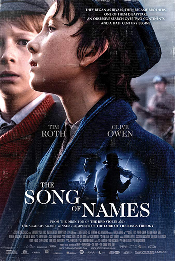 Song Of Names, The movie poster