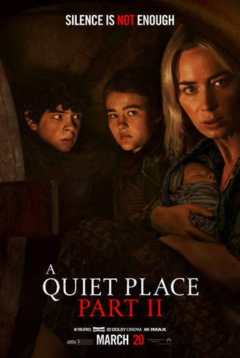 A quiet Place, Part II - in theatres 9/4/2020