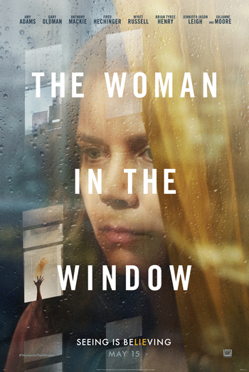 Woman in the Window, The movie poster