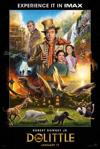 Dolittle (IMAX) movie poster