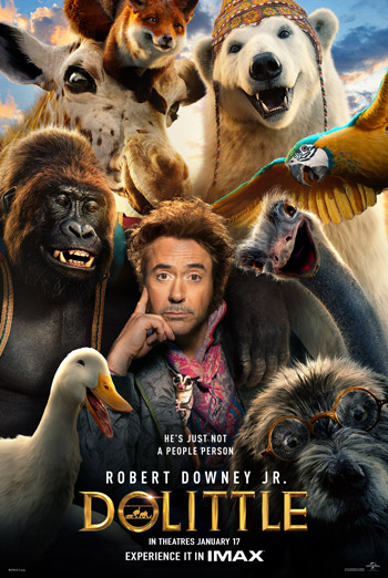 Dolittle (IMAX) - in theatres 01/17/2020