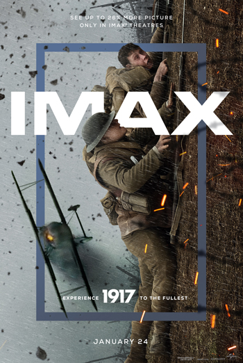 1917 (IMAX) - in theatres 01/10/2020