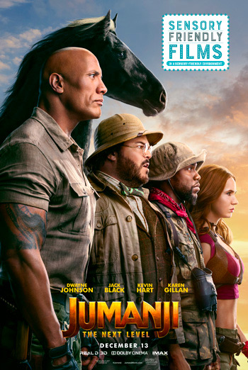 Jumanji: The Next Level(Sensory Friendly) movie poster