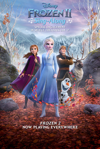 Frozen 2 (Sing-Along) - in theatres 01/17/2020