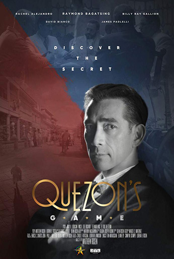 Quezon's Game (Filipino W/E.S.T.) movie poster