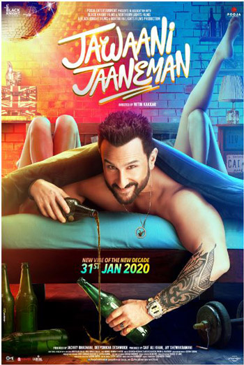 Jawaani Jaaneman (Hindi W/E.S.T.) movie poster