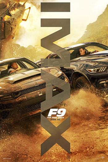 F9: The Fast Saga (IMAX) movie poster