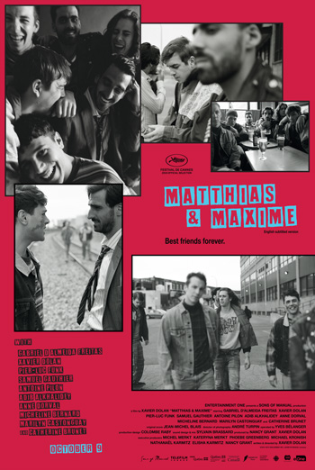 Matthias & Maxime movie poster