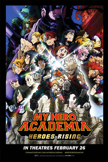 My Hero Academia:Heroes Rising (Japanese W/E.S.T.) movie poster