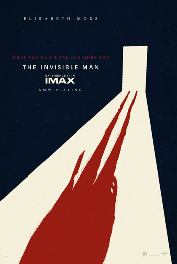 Invisible Man, The (IMAX) movie poster