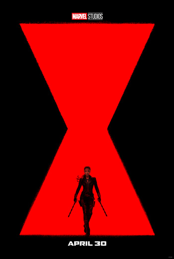 Black Widow (IMAX) movie poster