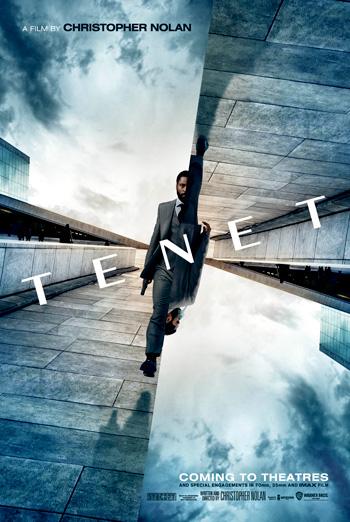 Tenet (IMAX) movie poster