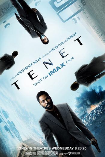 Tenet (IMAX) movie poster