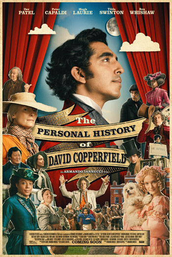 Personal History of David Copperfield, The movie poster
