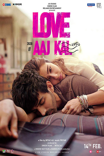 Love Aaj Kal 2 (Hindi W/E.S.T.) movie poster