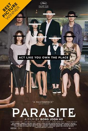 Parasite (Korean w EST) (IMAX) movie poster