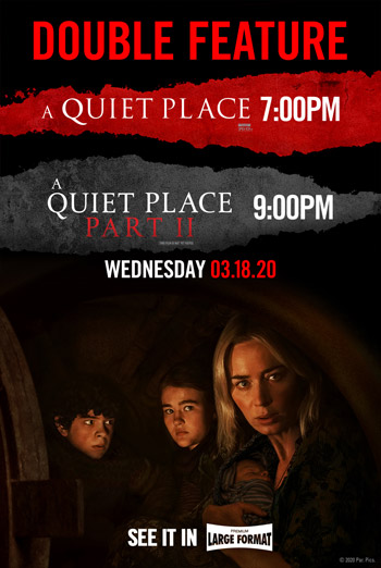 Quiet Place, A Double Feature movie poster