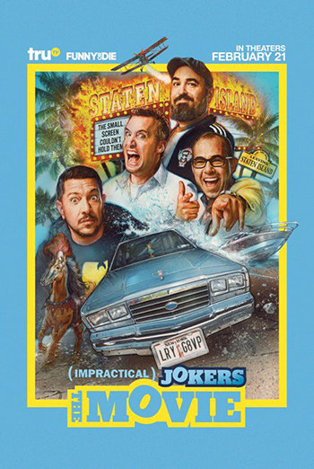 Impractical Jokers: The Movie movie poster