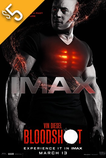 Bloodshot (IMAX) movie poster