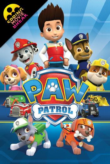 Paw Patrol Double Feature (Spring Movie Break)