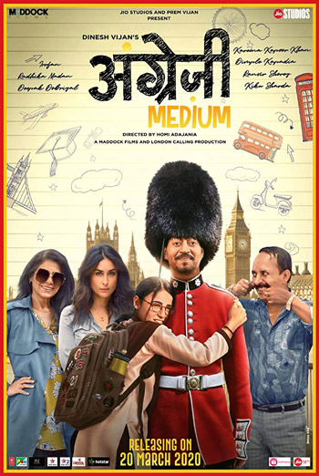 Angrezi Medium (Hindi W/E.S.T.) movie poster