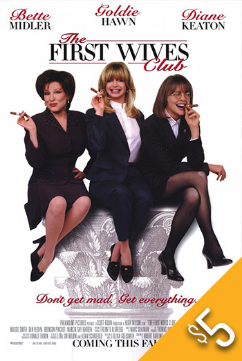 First Wives Club, The movie poster