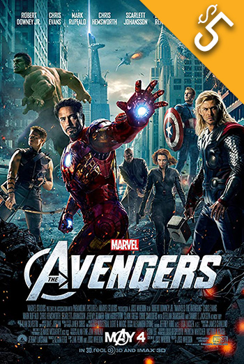 Avengers, The movie poster