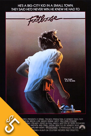 Footloose(1984) movie poster
