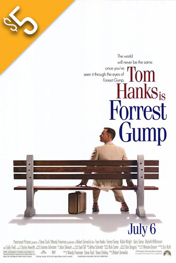Forrest Gump - in theatres 07/06/1994