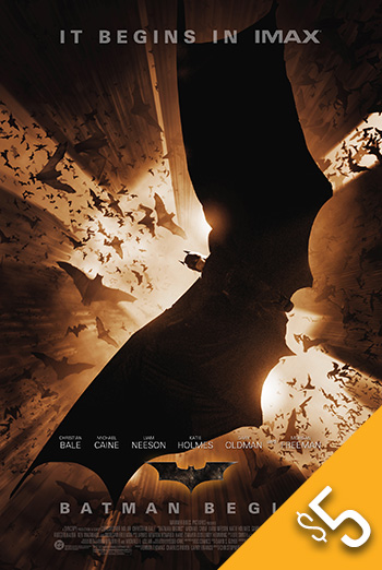 Batman Begins (IMAX) movie poster