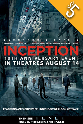 Inception - 10th Anniversary (IMAX) movie poster