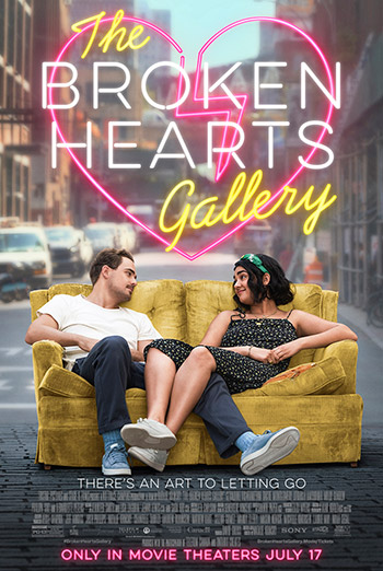 Broken Hearts Gallery, The movie poster