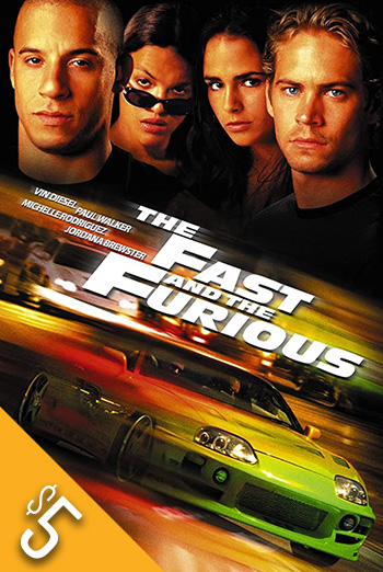 Fast and the Furious, The (2001) movie poster