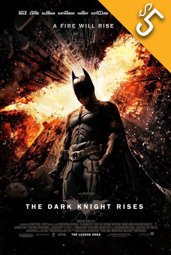 Dark Knight Rises, The movie poster