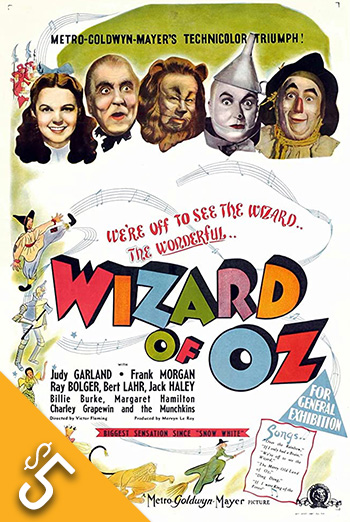 Wizard of Oz, The movie poster