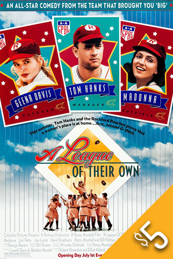 League of Their Own, A (1992) movie poster