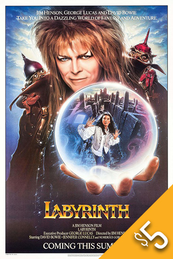 Labyrinth (1986) - in theatres 06/27/1986