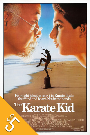 Karate Kid, The (1984) movie poster