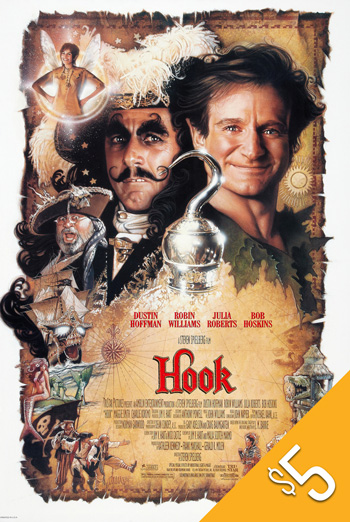 Hook (1991) movie poster