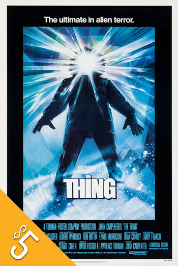 Thing, The (1982) movie poster
