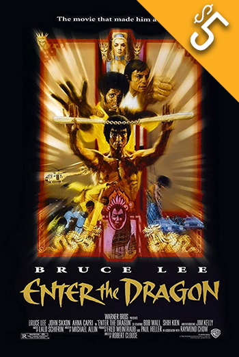 Enter the Dragon (1973) movie poster