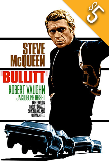 Bullitt - in theatres 10/17/1968
