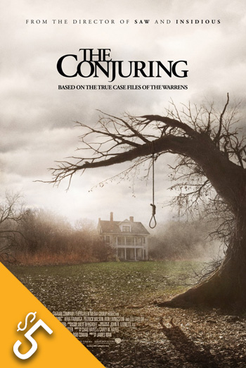 Conjuring, The movie poster