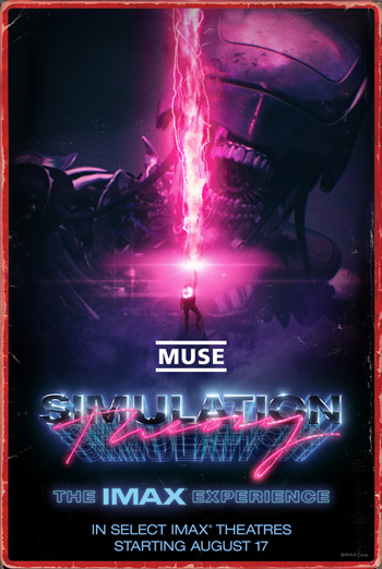 Muse: Simulation Theory-The IMAX Experience movie poster