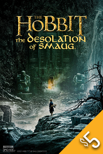 Hobbit: The Desolation of Smaug, The movie poster